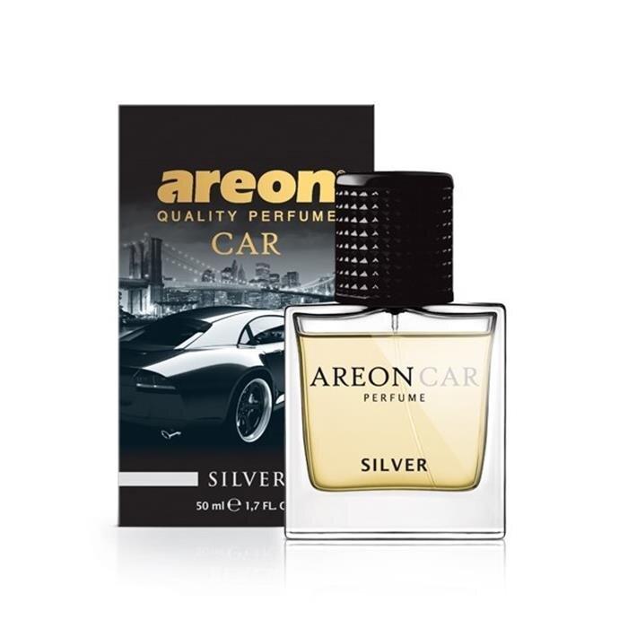 Ароматизатор Areon Car Perfume Glass Silver-№MCP05 в Нур-Султане от Auto-Land
