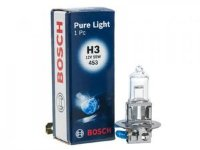 Лампа BOSCH Pure Light H3 12V 55W PK22s-№1987302031